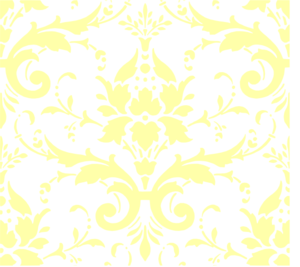Light Yellow Damask Clip Art