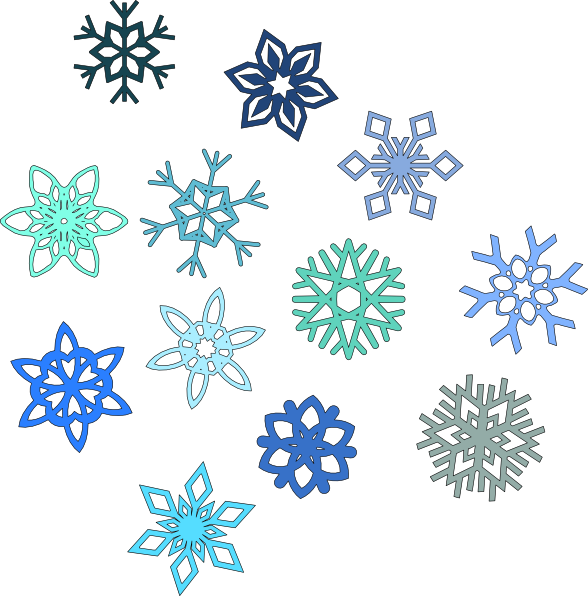 free snow clip art borders - photo #42