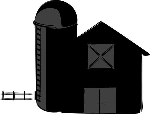 Barn Silhouette Clip Art | www.imgkid.com - The Image Kid ...