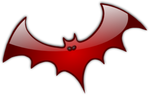 Red Bat Clip Art