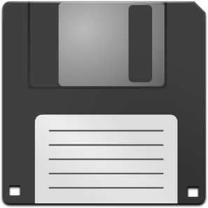 Media Floppy Disk Clip Art