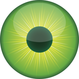 Green Eye Clip Art