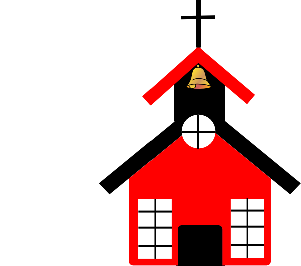 free black and white school house clipart - photo #41