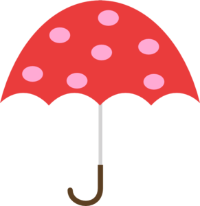 polka dot umbrella clip art at clker com vector clip art online rh clker com beach umbrella clip art free free rain umbrella clip art