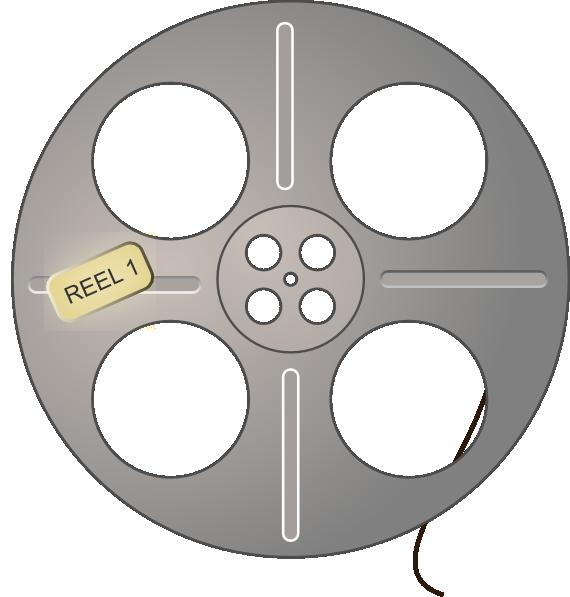 movie reel clip art at clker com vector clip art online movie reel clipart black and white clipart movie reel