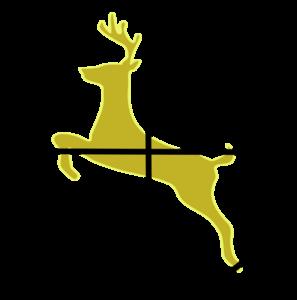 hunting cross hairs clip art at clker com vector clip art online rh clker com deer hunting clipart free hunting rifle clipart free
