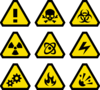 Warning Signs Clip Art