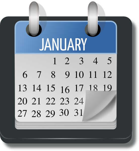Free Clip Art Calendar Months : Monthly calendar clip art at clker vector