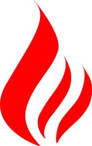 Red Flame Clip Art