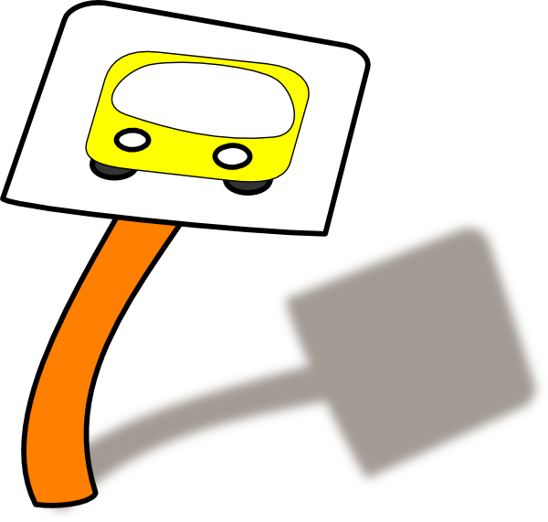 Bus Stop Clip Art at Clker.com - vector clip art online, royalty free ...