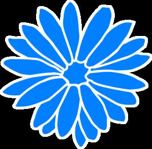 dahlia blue clip art at clker com vector clip art online royalty rh clker com dahlia clipart free dahlia clip art free