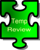 Temp Review Clip Art