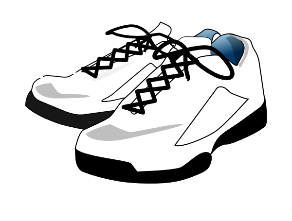tennis shoes clip art at clker com vector clip art online rh clker com tennis shoe clip art black and white tennis shoes clip art border