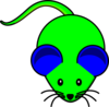 Greenblue Mouse Clip Art