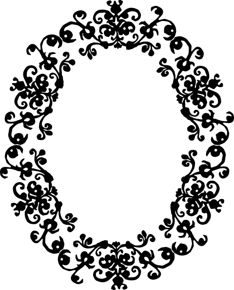 ornate oval frame clip art decorative oval clip art