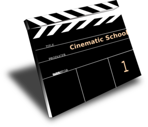 Cinematic School Clip Art