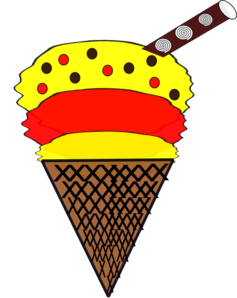 Ice-cream Cone Clip Art