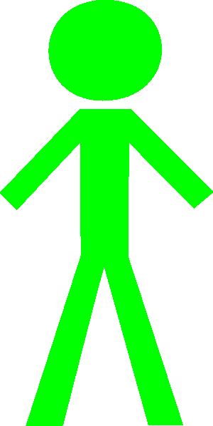green stick man clip art at clker com