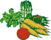 Vegetables (large) Clip Art
