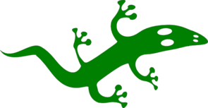 Green Lizard Clip Art
