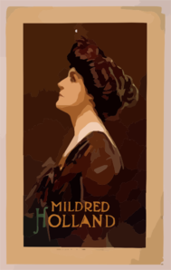 Mildred Holland Clip Art