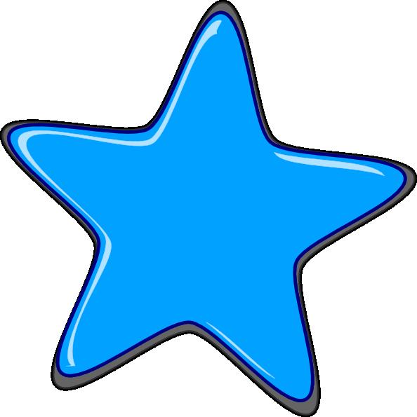 Blue Star Edited2 Clip Art at Clker.com - vector clip art ...