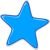 Blue Star Edited2 Clip Art