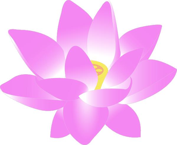 Pink Lotus Drawing Pink Lotus Flower Clipart
