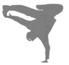 Break Dance Up 2 Clip Art