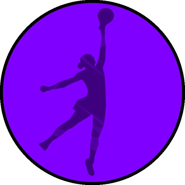 Netball Lilac Clip Art at Clker.com - vector clip art online, royalty ...