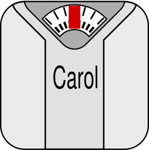 Scale Weight Loss Clip Art