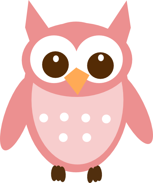 rose pink owl clip art at clker com vector clip art online rh clker com Owl in Tree Clip Art Owl in Tree Clip Art
