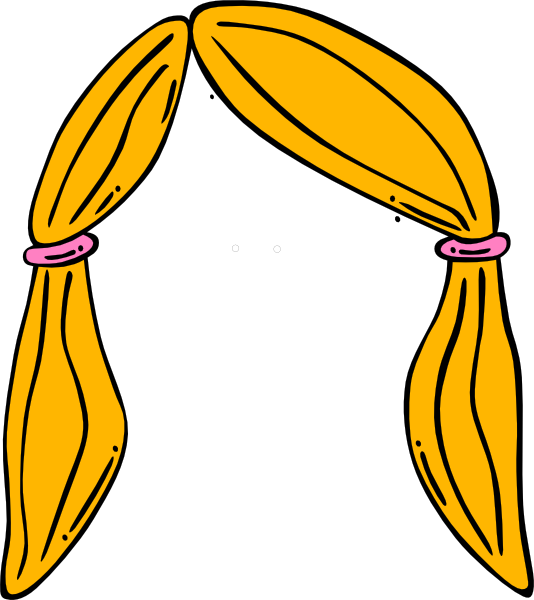 Hair Clip Art at Clker.com - vector clip art online, royalty free ...: www.clker.com/clipart-hair-8.html