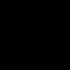 Black And White Rosette Clip Art