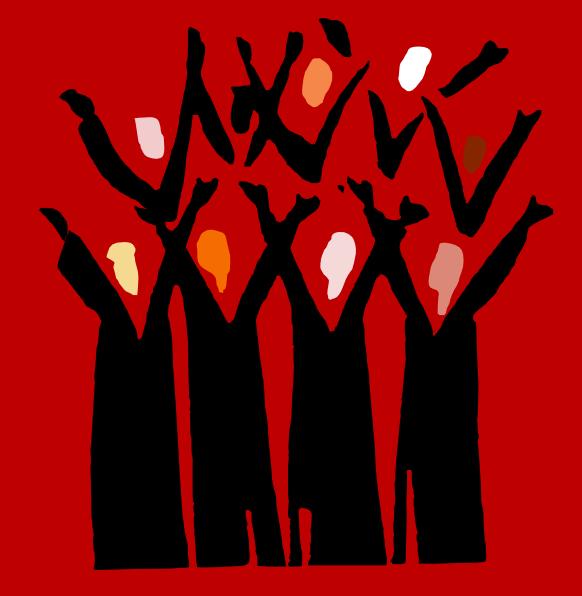 clip art church choir singing - photo #24