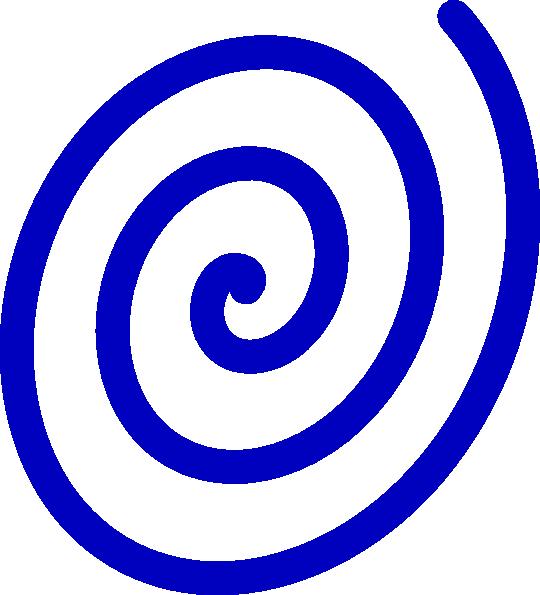 blue spiral clip art at clker com vector clip art online royalty rh clker com swirl clipart images spiral clip art free