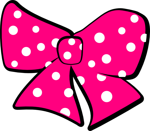 Minnie Mouse Bow Clip Art at Clker.com - vector clip art online, royalty free & public domain