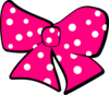 Minnie Mouse Bow Clip Art