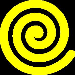 yellow spiral clip art at clker com vector clip art online rh clker com swirl clip art generator swirl clipart images
