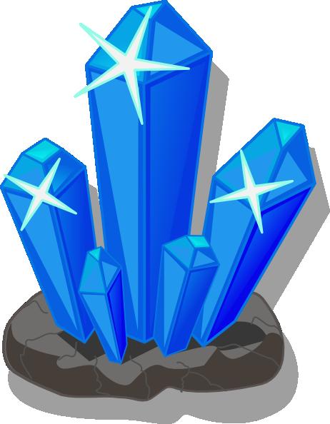 Crystals Clip Art at Clker.com - vector clip art online ...