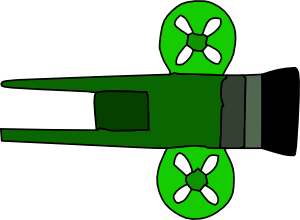 Cannon Arms Weapon Clip Art