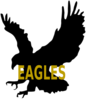 Eagles Outline Clip Art