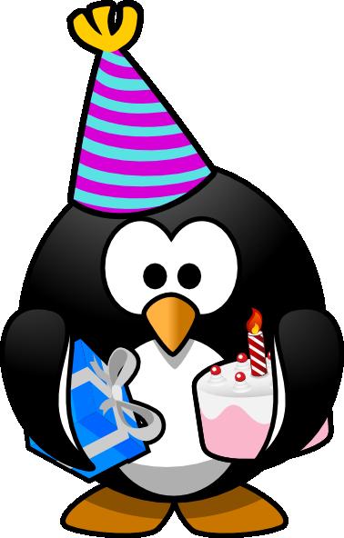 celebration penguin clip art at clker com vector clip art online rh clker com black and white birthday celebration clip art birthday cake celebration clip art