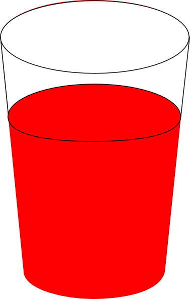 cup of water clipart - photo #13