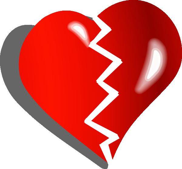 White Heartbreaker Clip Art At Clker Com Vector Clip Art
