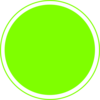 Glossy Lime Green Icon Button Clip Art