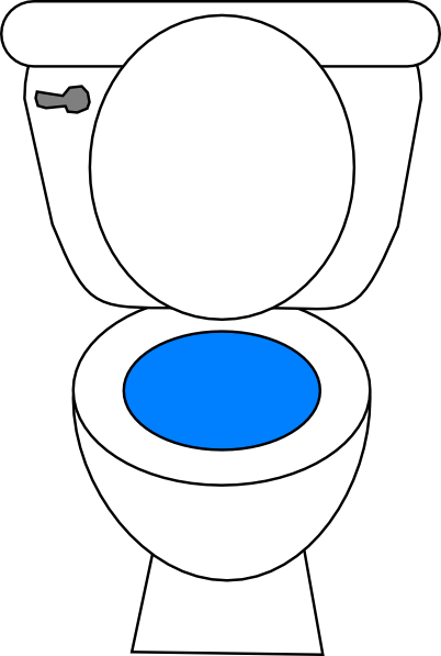 toilet clip art at clker com vector clip art online royalty free rh clker com toilet clipart funny toilet clipart free