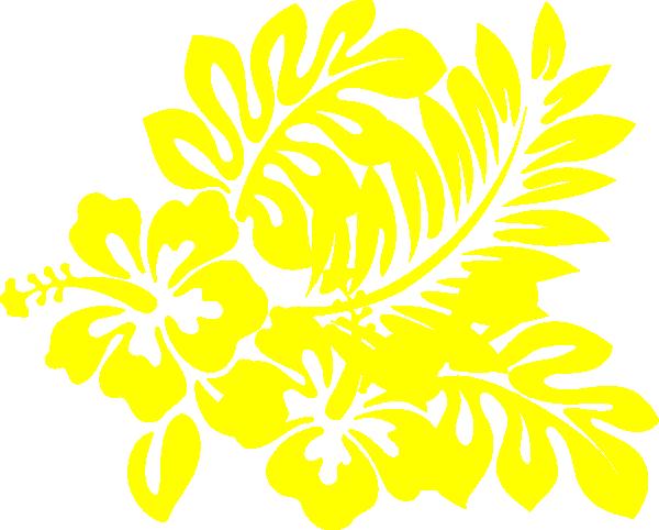 Hibiscus Light Yellow Clip Art at Clker.com - vector clip ...