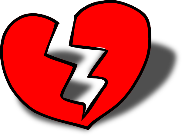 broken heart clip art at clker com vector clip art clipart broken heart man clip art broken heart