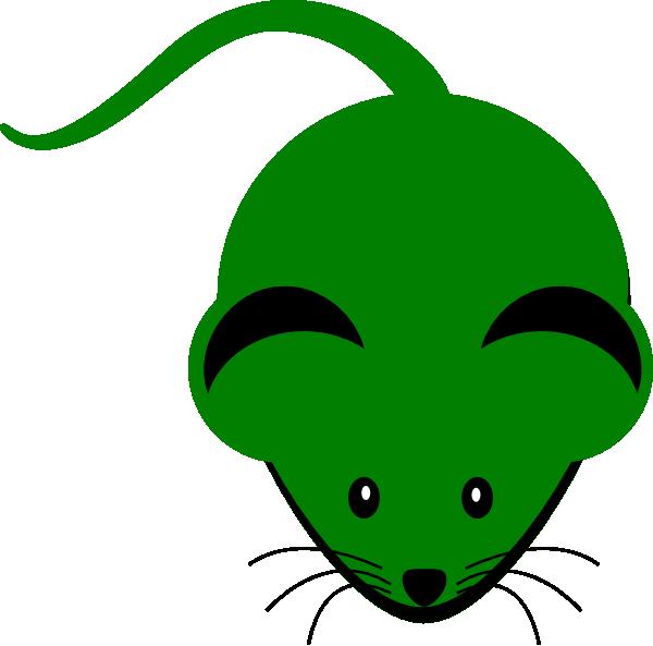 Green Mouse Clip Art at Clker.com - vector clip art online ...